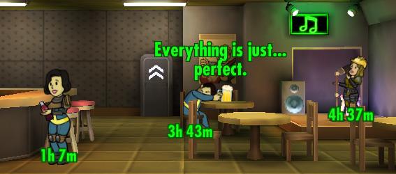 Советы Fallout Shelter: бар самое веселое место в бункере