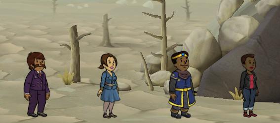 Советы Fallout Shelter: новые люди подошли к стенам бункера