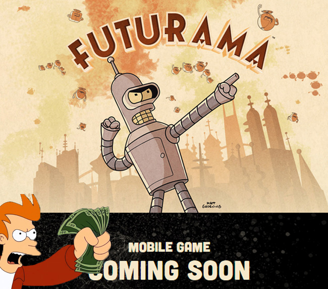 Мобильная игра по мультсериалу «Футурама» на подходе