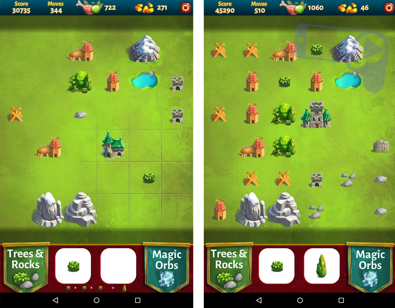Обзор Farms & Castles – создавайте королевства из кучи камней и кустов