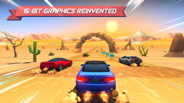 Лучшие игры 20 августа для iOS и Android: Winter Fugitives, Horizon Chase, Happy Wheels…