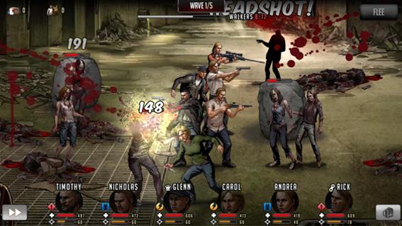The Walking Dead: Road to Survival – новая игра по «Ходячим мертвецам» появилась для мобильных