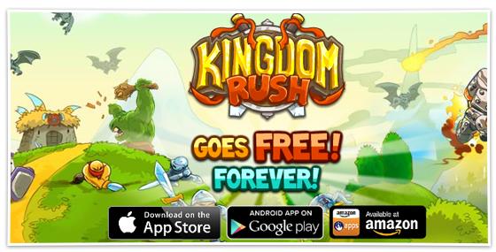 Kingdom Rush навсегда стала бесплатной