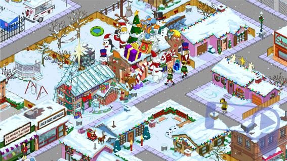 В мобильном Спрингфилде выпадает снег и начинается подготовка к празднику
