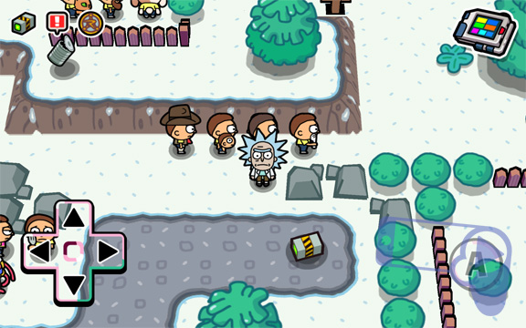 Как в Pocket Mortys быстро найти черный ящик?