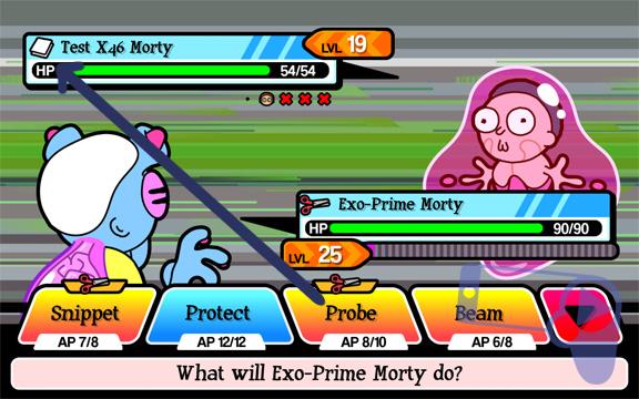 Как побеждать в Pocket Mortys?