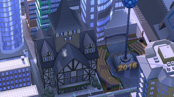Как в SimCity BuildIt строить здания в горах?