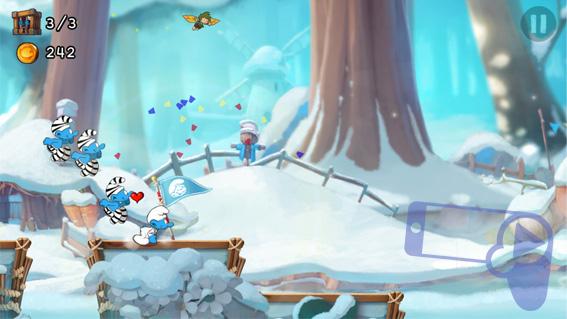 Советы Smurfs Epic Run: спасаем смурфов, следим за табличками и ищем искры