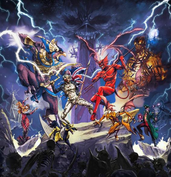 Мифология легендарной Iron Maiden выльется в мобильную игру