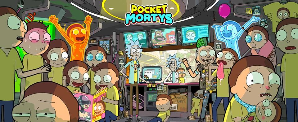 Pocket Mortys стала на 19 Морти больше