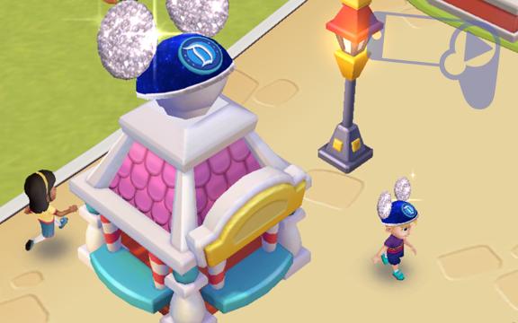 Как получить Праздничную витрину со шляпами в Disney Magic Kingdoms?