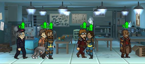 Зачем улучшать оружейную мастерскую в Fallout Shelter?