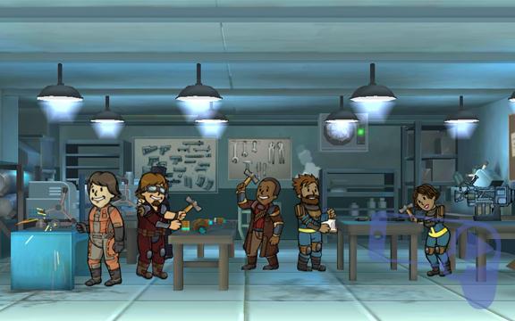 Советы крафта по игре Fallout Shelter