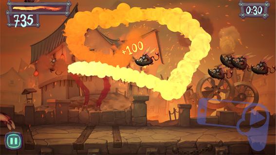 Обзор Fire Fu – устройте огненное шоу для адских чудовищ