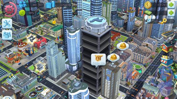 Как создавать золотые жетоны скорости в игре SimCity BuildIt?