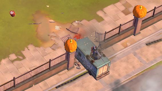 «Зомби в городе» - свежая экшен-стратегия от Gameloft
