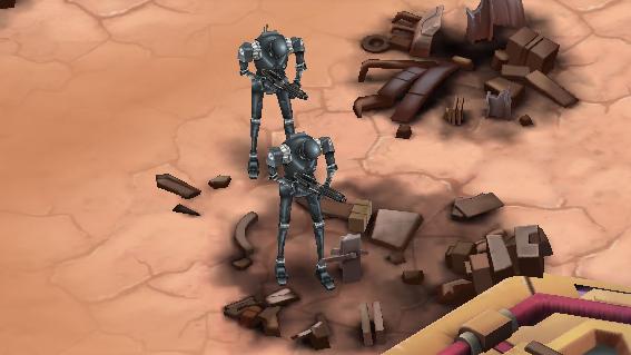 Получить в  «Звездных Войнах: Вторжение» Дроида-охотника