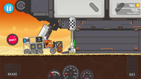 RoverCraft Racing – исследуйте планеты на личном луноходе