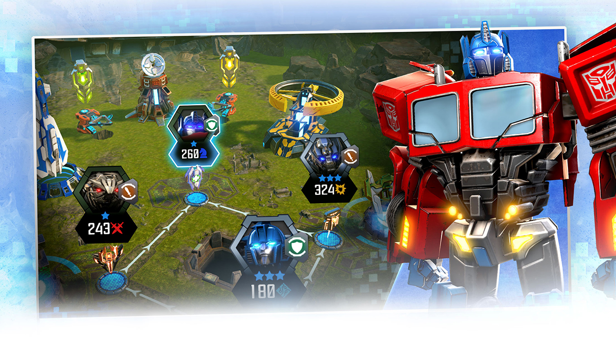 Скачать Transformers: Forged to Fight на Android или iOS