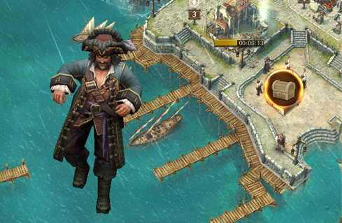 Все секреты мобильной игры Пираты Карибского моря