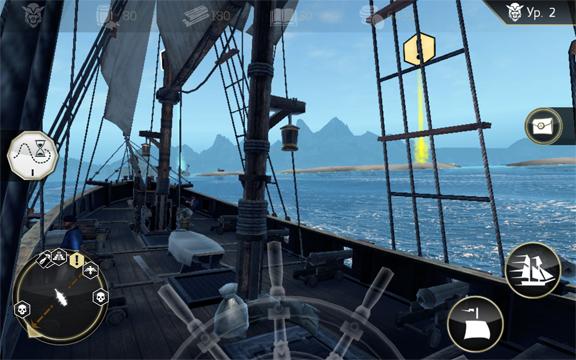 Assassin's Creed Pirates - лучшая игра про пиратов