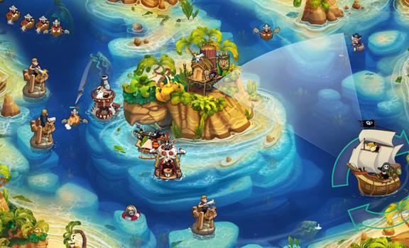 Pirate Legends TD - лучшая игра про пиратов