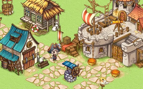 Pirates of Everseas - лучшая игра про пиратов