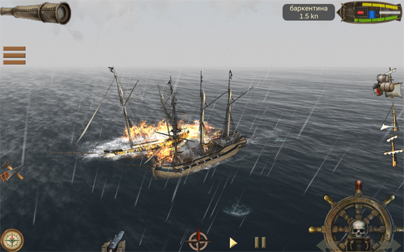 The Pirate: Caribbean Hunt - лучшая игра про пиратов