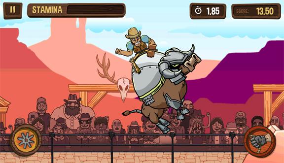 PBR: Raging Bulls - прыгай на быке, как ковбой!