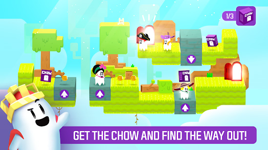 Призрачная головоломка Ghost Game - Get the Chow доступна на iOS и Android