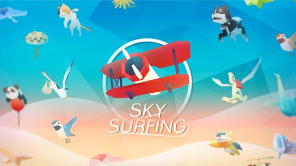 Sky Surfing - небесная прогулка в стиле Flappy Bird