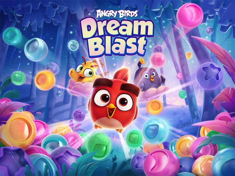 Angry Birds Dream Blast – хлопай пузыри вместе со злыми птичками