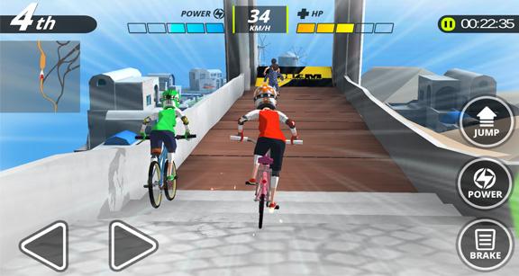Downhill Masters – лучший симулятор велогонщика для Android