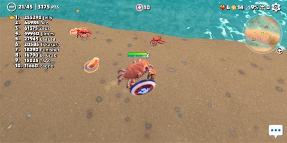 King of Crabs - королевская битва крабов