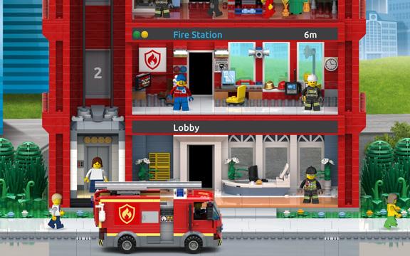 LEGO Tower: Пожарная часть