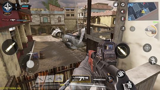 Неплохая точка для снайпера