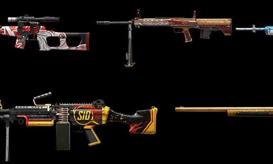 Новые скины для оружия в 10 сезоне