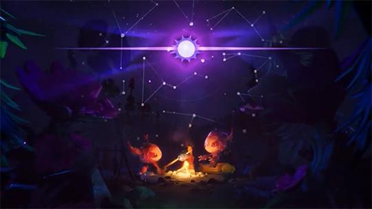Звездное небо в