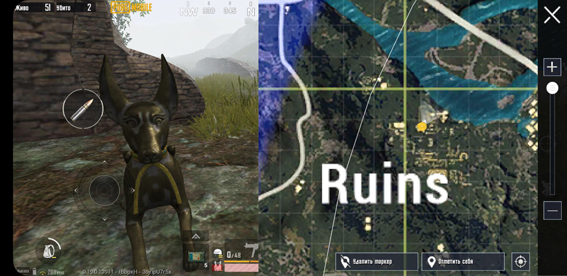treasure_hunters_pubg_mobile_statue_1