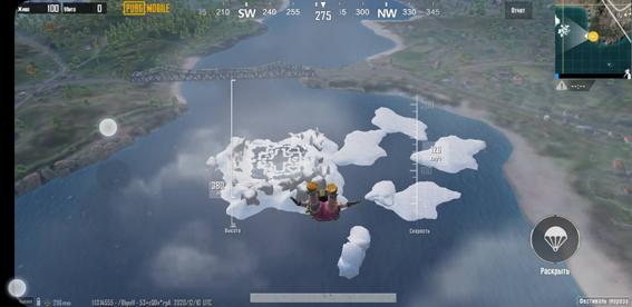Достижение Зимний путешественник в PUBG Mobile